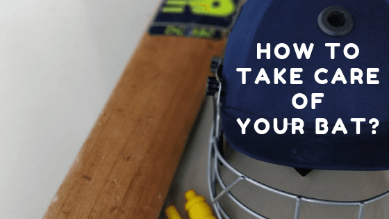 Cricket bat care