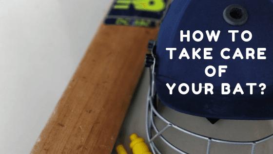 Cricket Bat Care