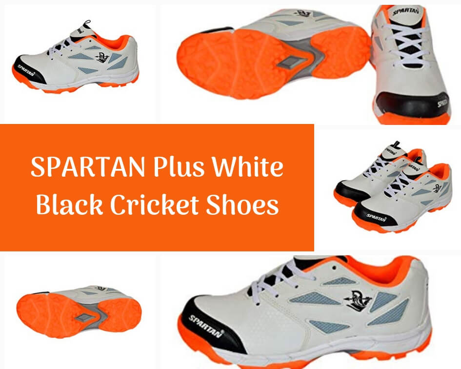 Spartan rubber stud cricket spikes shoes